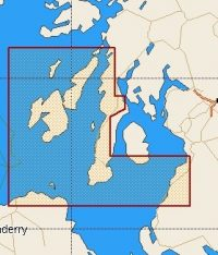 C-Map Local Chart Firth Of Clyde To Sound Of Jura