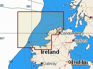 C-Map Local Chart Benwee Head To Culdaff Bay
