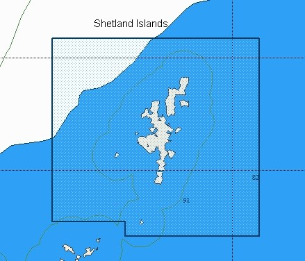 C-Map Local Chart Shetland Islands