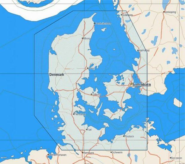 C-Map NT+ Wide Chart EN-C124 Denmark