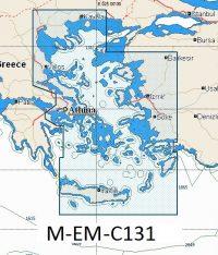 C-Map NT+ Wide Chart EM-C131 Aegean Sea And Crete