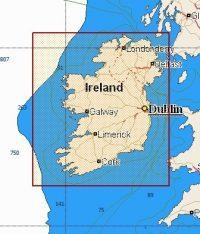 C-Map NT+ Local Chart EW-C143 River Shannon