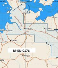 C-Map NT+ Wide Chart EN-C176 North Germany