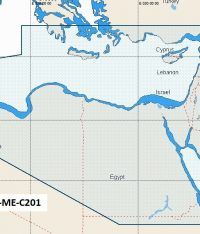 C-Map NT+ Wide Chart ME-C201 NE Africa, Med And Mid East Coasts