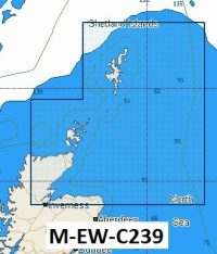 C-Map NT+ Wide Chart EW-C239 Shetland Islands To Inverness