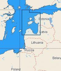 C-Map NT+ Wide Chart EN-C348 Pavilosta To Tallinn (Gulf Of Riga)