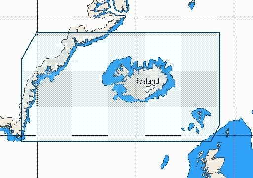 C-Map NT+ Wide Chart EN-C402 Iceland & Faroe Islands