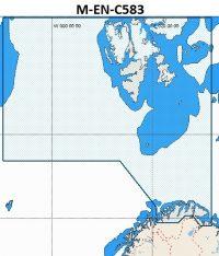 C-Map NT+ Wide Chart EN-C583 Norway Nordreisa Fjord To Kirkenes And Svalbard