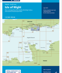 Imray C3 Isle of Wight
