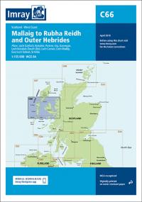 Imray C66 Mallaig to Rudha Reidh and Outer Hebrides