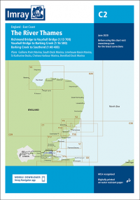Imray C2 The River Thames