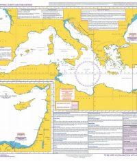 Q6110 – Maritime Security Chart Mediterranean Sea