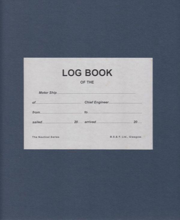 Motorship Engineers Log Book 3 Month